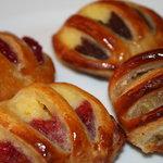 Bakery Ruhetal - カクテルデニッシュ(チェリー、ストロベリー、アップル、チョコ)
