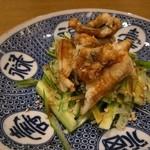 鮨 春松 - 煮アナゴと胡瓜