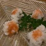 鮨 春松 - 鱧湯引き