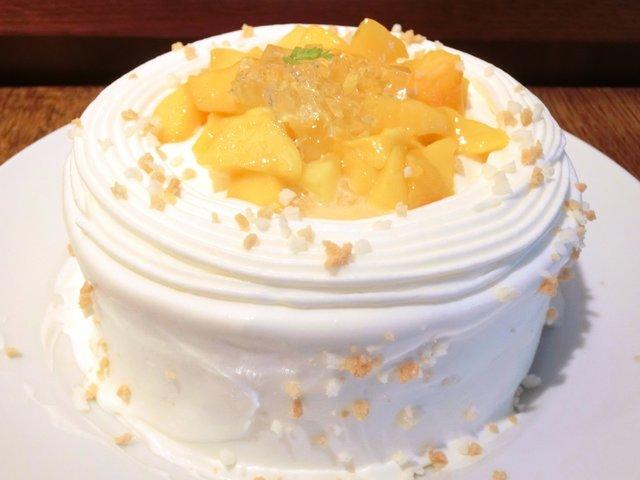 セバスチャン - マンゴーのショートケーキ 1100円