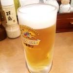 福てんかつ - 生ビール