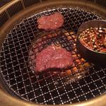 SATOブリアン - ヒレ焼き上がり
