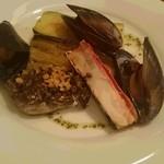 シーフードレストラン アクア - 野菜と海鮮のグリル