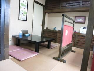 小野木 - お座敷テーブルあり。