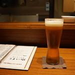 うまい噺 - まずはビールで(^^)