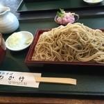 手打ちそば わか竹 - 辛みおろし(藪蕎麦) ¥810 +大盛り¥216