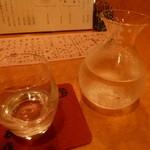 まる作 - 冷酒(八海山)