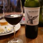 つばめグリル - 赤ワイン「モンテス 」のカベルネ 2015年5月