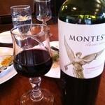 つばめグリル - 赤ワイン 2012年9月