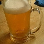 浅草 三ちゃん - 生ビール