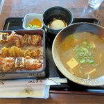 のんき亭 - 料理写真:のんき定食2015.07.04