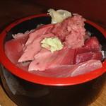 水月 - 「中とろまぐろ丼」¥1,300です。
