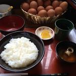 39673806 - 卵かけ御飯定食 360円