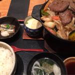 39674193 - ジンギスカン定食