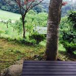 Satoyamakafetasaburousansou - テラスからの景色