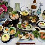 お食事処 ひまわり - 料理写真:会席料理(¥5,000)
