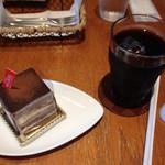 39676241 - プラリネとアイスコーヒー