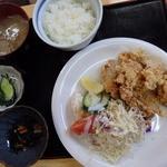 すずかけ - 2015.7 塩ザンギ定食
