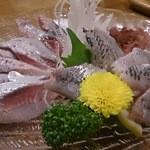 魚料理 常陸 - いわし刺身