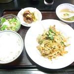 昭龍軒 - 本日の定食¥650☆♪