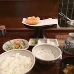 39679714 - かき揚げ定食1620円