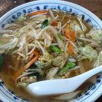東山 - 野菜ラーメン