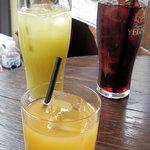 サブライム - あずき茶とジュース