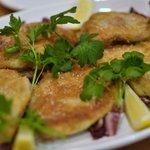 セレーノ - もうかざめのパン粉焼きソテー