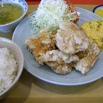 蘭風 - 唐揚げ定食