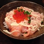 39680117 - 日替り 炙りサーモン丼 ズームアップ