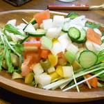 カーニヴォ - ジャーサラダはお野菜いろいろ(4人分)☆♪
