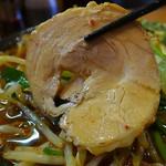 麺匠 有磨屋 - 巻きバラ豚は極ノーマル(2015年5月30日)