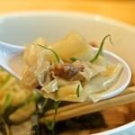 姫路麺哲 - ワンタン