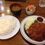 レストラン しらはま - メンチカツ(セット)