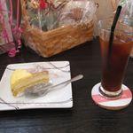 39683057 - ミルクレープとアイスコーヒー(2015.05)