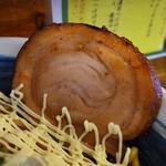 二代目 ユタカ - 炙り巻きバラ豚の出来栄え良し(2015年6月7日)