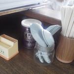 さつき食堂 - 机上セット