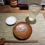 寿司ひでぞう - 萬緑 水割り