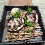 寿司ひでぞう - 生とり貝のお造り