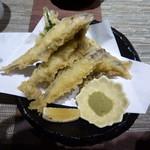 寿司ひでぞう - 小鮎の天ぷら