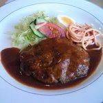 cafe&restaurant mam-ma - ハンバーグステーキ