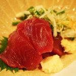 つく田 - 料理写真:もち鰹(春)