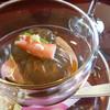 みやま - 料理写真:前菜 もずくの茶巾寄せ
