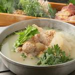 かしわ - 料理写真:比内地鶏の白(2人前~)