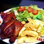 ラスロカス - ポヨ・ア・ラブラッサ(ペルーの鶏肉料理ポテトと野菜)