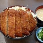 明治亭 - 信州産ロースカツ丼