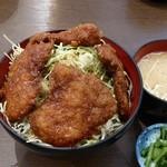 明治亭 - 信州産ヒレカツ丼