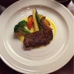 日本料理 すがわら - 野菜とステーキ