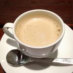 上島珈琲店 - 黒糖ミルクコーヒー(S370円)