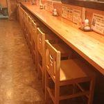 黒潮食堂 - カウンター席